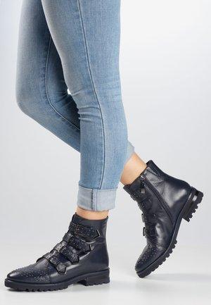 SENA - Cowboy/biker ankle boot - ocean