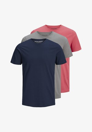 3 PACK  - Basic T-shirt - navy sedona slate
