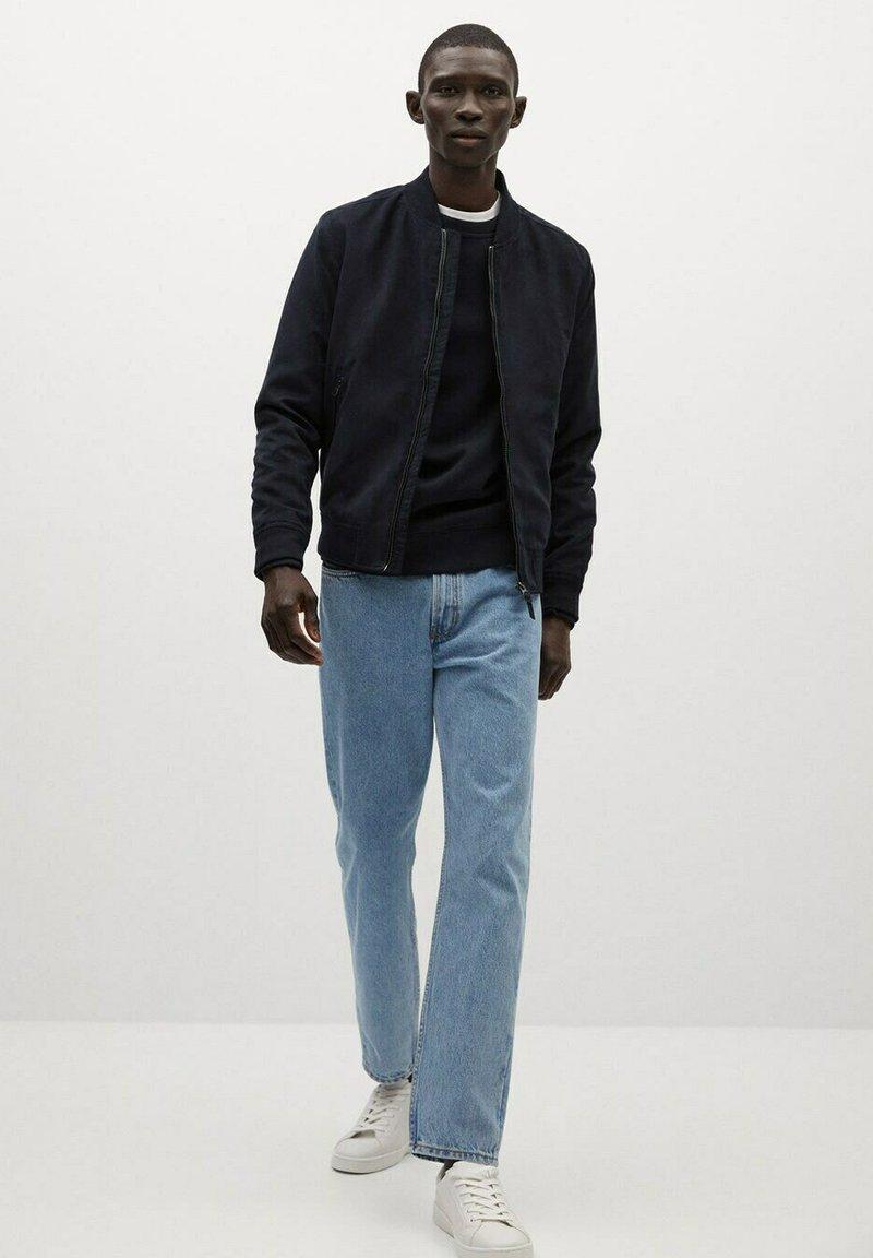 Mango - Light jacket - dunkles marineblau