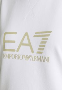EA7 Emporio Armani - Sweatshirt - white/light gold - 2