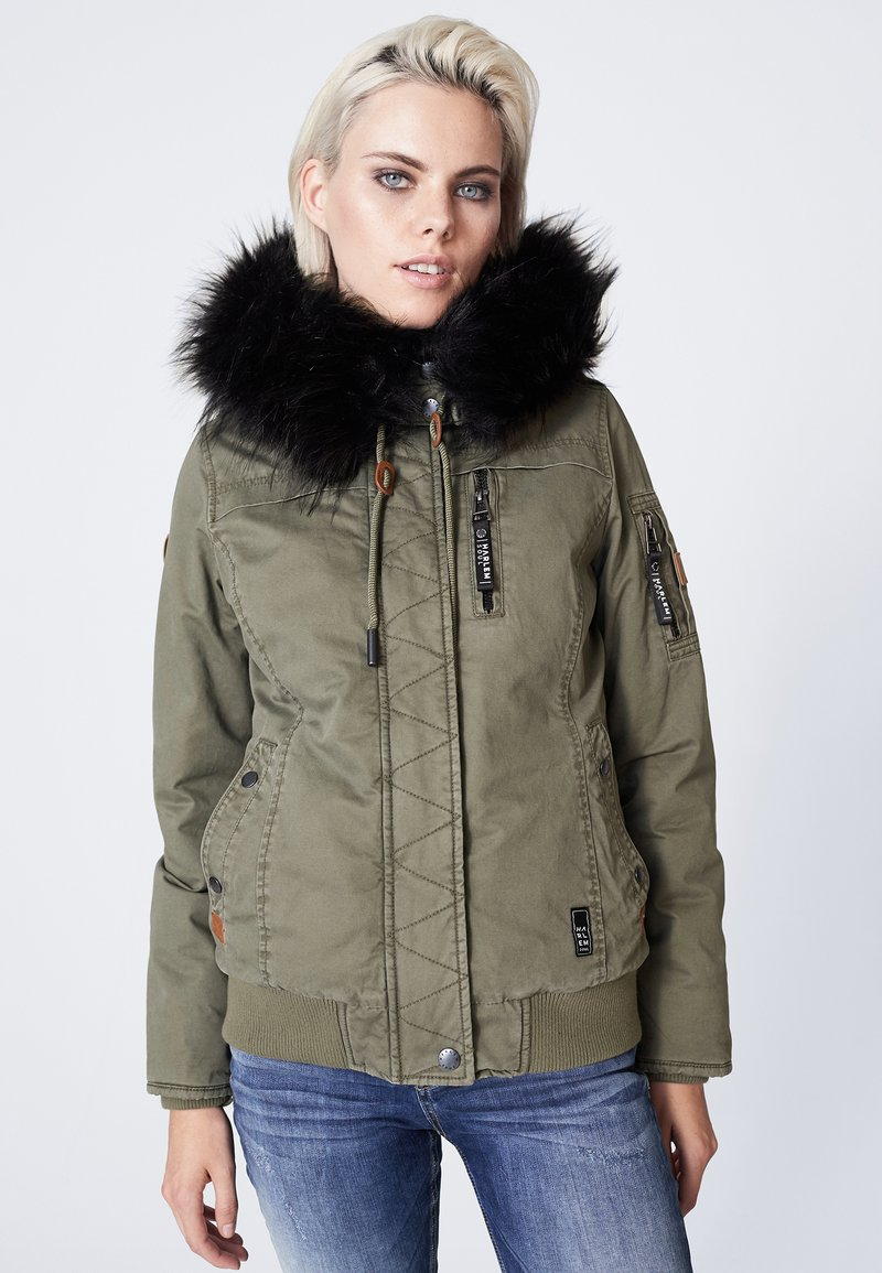 Harlem Soul - GI-GI  - Winter jacket - olive