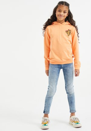 REGULAR FIT - Hoodie - orange