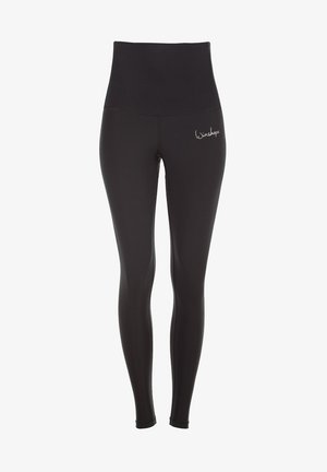 HWL102 SCHWARZ HIGH WAIST -TIGHTS - Leggings - schwarz