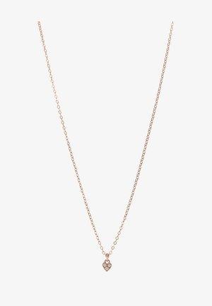 NEMARRA NANO HEART CHOKER - Necklace - rose gold-coloured