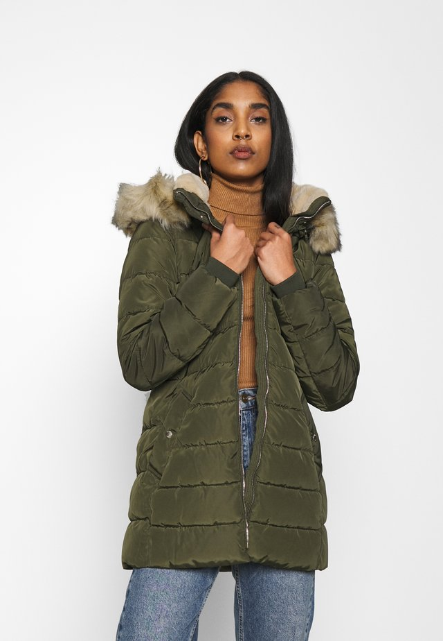 ONLCAMILLA QUILTED  - Veste d'hiver - forest night