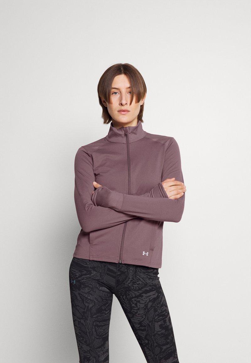 Under Armour - MERIDIAN JACKET - Training jacket - purple