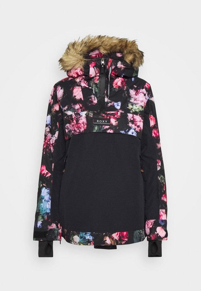 SHELTER - Snowboard jacket - true black
