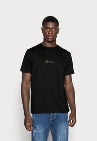 Mennace - 2 PACK UNISEX - Print T-shirt - black/grey - 3