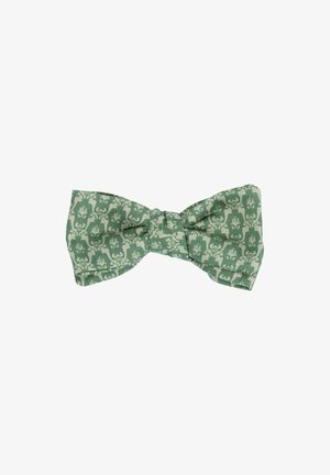 TANTE - Bow tie - olive/beige