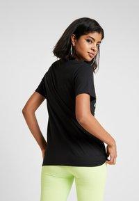 NEW girl ORDER - DOUBLE DRAGON PRINT TEE - T-shirt med print - black - 2