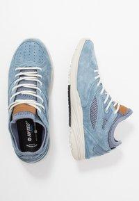 Hi-Tec - X-PRESS LOW WOMENS - Løbesko walking - dusty blue/flinstone - 1