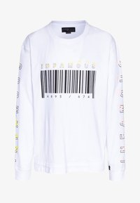 Common Kollectiv - PLUS LONG SLEEVE SLOGAN PRINTED ARCADE TEE - Long sleeved top - white - 4