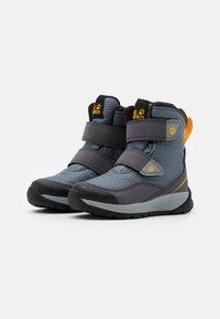 Jack Wolfskin - POLAR BEAR TEXAPORE HIGH UNISEX - Winter boots - pebble grey/burly yellow - 1
