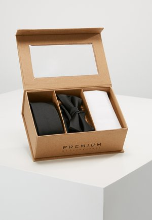 JACNECKTIE GIFT BOX - Kapesník do obleku - black