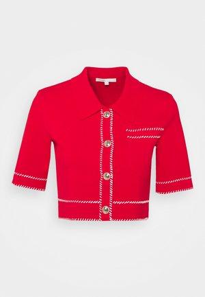 MOSS - T-shirt med print - rouge