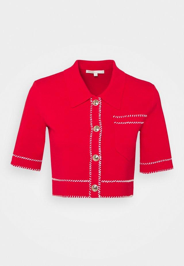 MOSS - T-shirt z nadrukiem - rouge