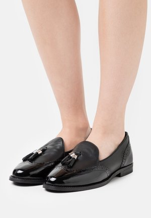 FAIN TASSLE LOAFER - Slip-ons - black