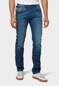 TOM TAILOR - Slim fit jeans - blue denim - 0