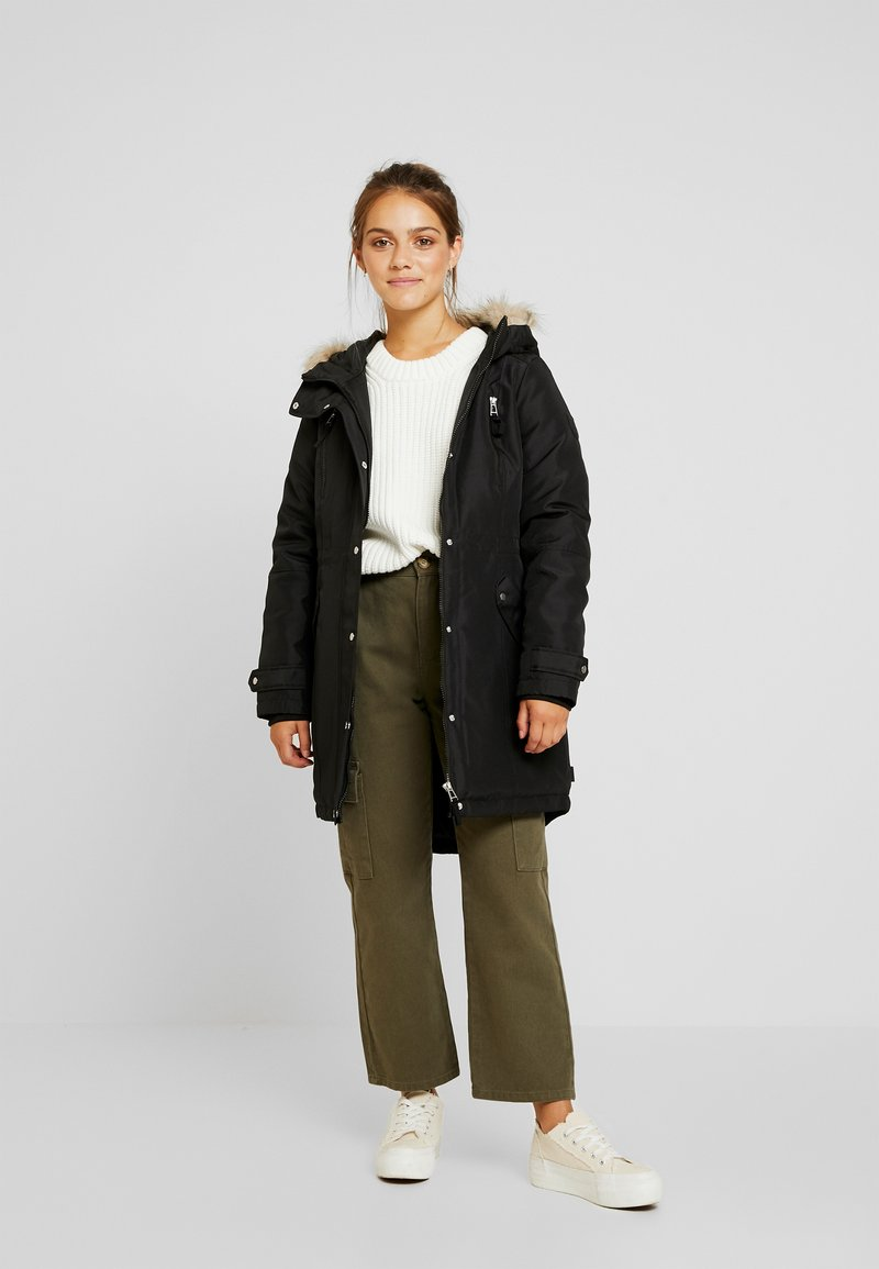 Vero Moda Petite - VMTRACK EXPEDITION - Parka - black
