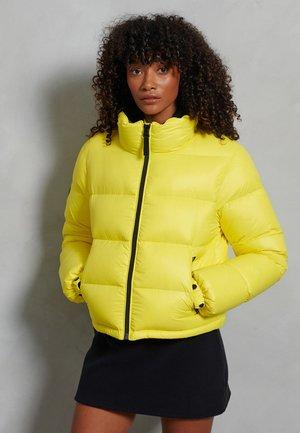 LUXE ALPINE - Down jacket - citrus zest