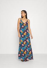 O'Neill - MAXI DRESS - Doplňky na pláž - blue/yellow - 0