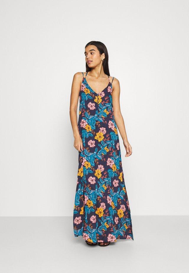 MAXI DRESS - Strandaccessoire - blue/yellow