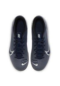 Nike Performance - MERCURIAL JR VAPOR 13 CLUB FG/MG UNISEX - Moulded stud football boots - midnight navy/white - 1