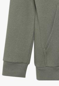 adidas Performance - veste en sweat zippée - dark green - 2