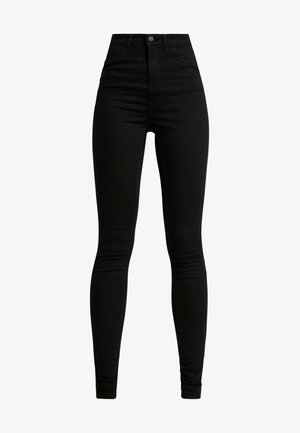 NMNEW LEXI - Jeans Skinny Fit - black denim