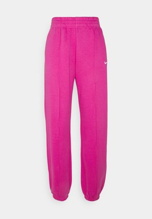PANT TREND - Tracksuit bottoms - active fuchsia