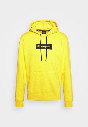 HOODED - Felpa - yellow