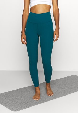 THE YOGA LUXE 7/8 - Collant - geode teal/midnight turquoise