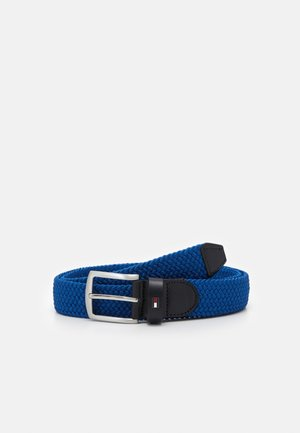 DENTON  - Braided belt - blue