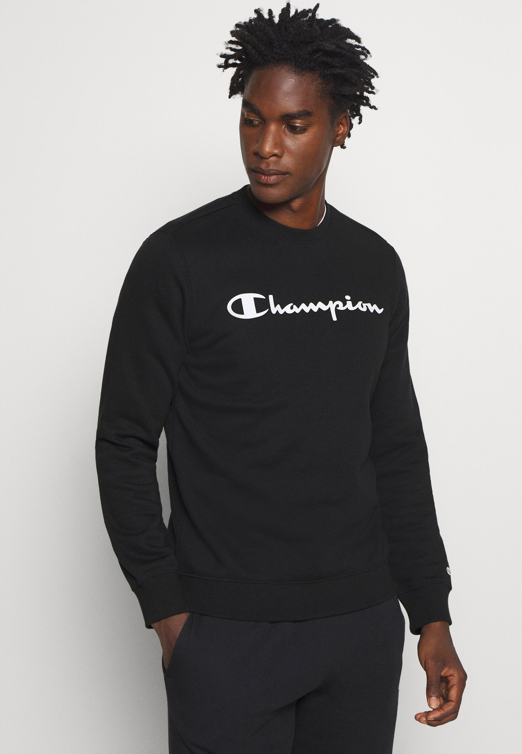 Champion LEGACY CREWNECK Sweatshirt black Zalando.at