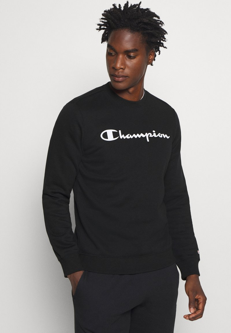Champion - LEGACY CREWNECK - Sweatshirt - black