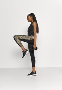 adidas Performance - BELIEVE THIS 2.0 LACE AEROREADY WORKOUT COMPRESSION 7/8 LEGGINGS - Collants - black/hazbei - 0