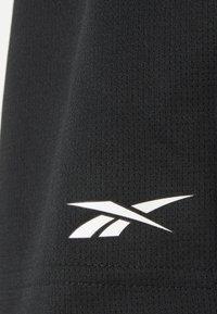 Reebok - SHORT - Sportovní kraťasy - black - 4