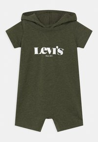 Levi's® - HOODED LOGO GRAPHIC  - Overal - olive night heather - 0