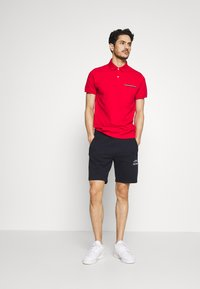 Tommy Hilfiger - BASIC EMBROIDERED  - Shorts - blue - 1