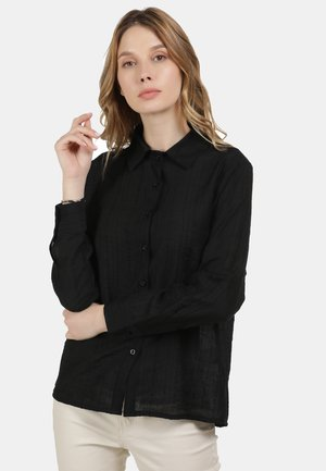 KLASSISCHE BLUSE - Košile - schwarz