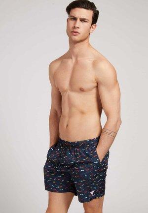 Swimming shorts - mehrfarbig grundton blau