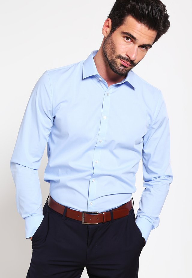 OLYMP NO.6 SUPER SLIM FIT - Formal shirt - hellblau