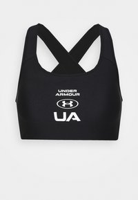 Under Armour - CROSSBACK GRAPHIC - Sport-bh met high support - black - 4