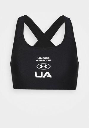 CROSSBACK GRAPHIC - High support sports bra - black