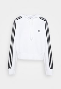adidas Originals - SHORT HOODIE - Hoodie - white - 5