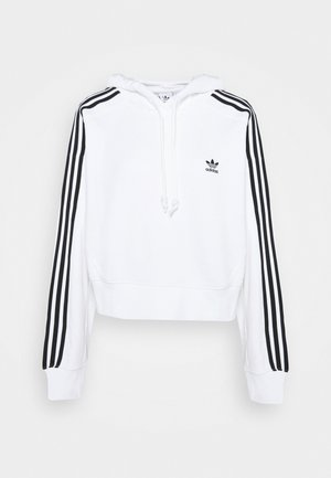 SHORT HOODIE - Sweat à capuche - white