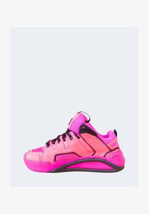 Sneakers basse - fuxia