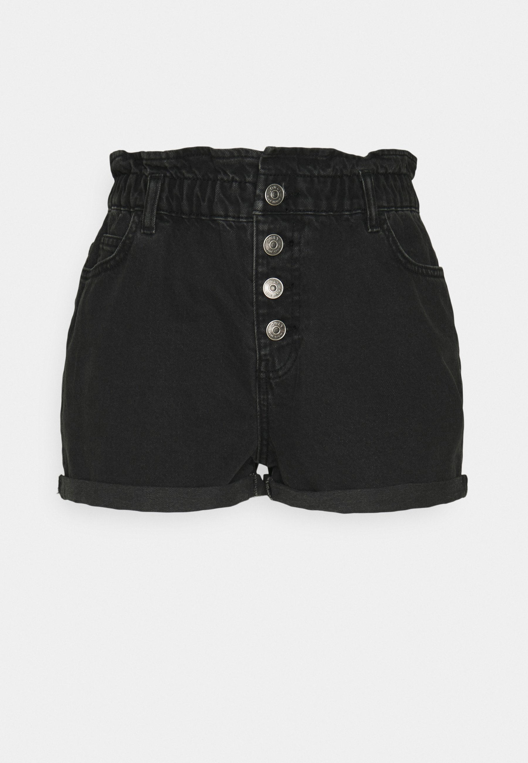 Donna ONLBAY LIFE PAPERBAG - Shorts di jeans