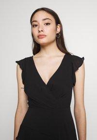 New Look Petite - YORU FRONT FRILL MIDI - Cocktail dress / Party dress - black - 3