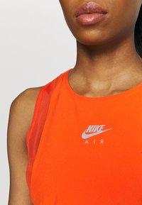 Nike Performance - AIR TANK - Top - team orange/silver - 5